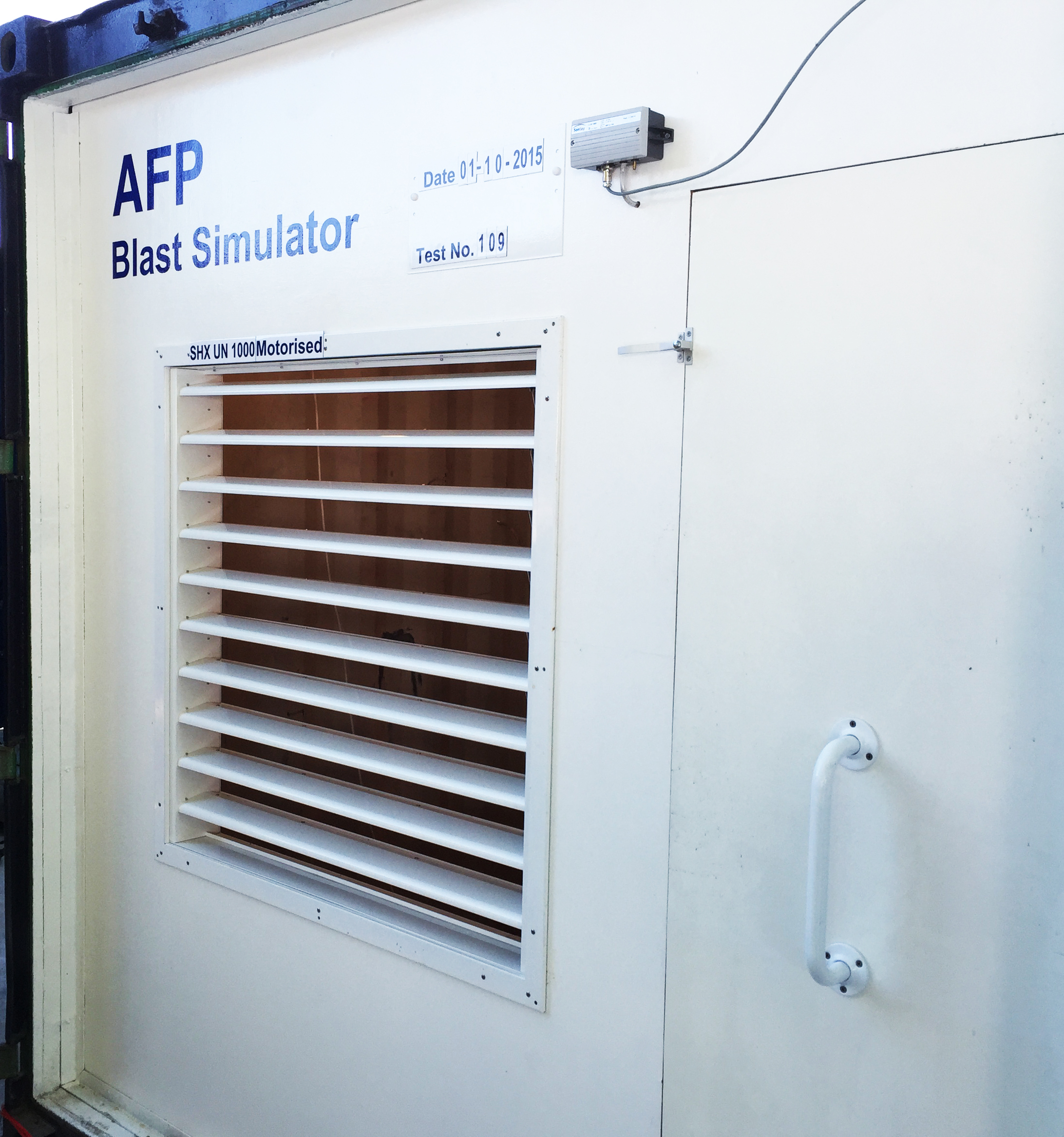 AFP Blast Simulator SHX-UN