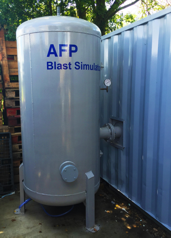 AFP Blast Simulator